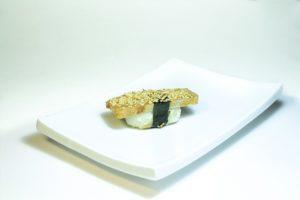 07 Тамаго (30 руб. 33 гр.) Омлет,соус кабояки, кунжут
