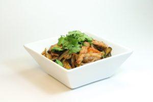 Кади-Ча 150 руб. (Мясо на выбор(свинина,говядина,курица), свежая кинза,помидора,лук,баклажан,перец болгарский) порц. 200гр 140Ккал на 100 гр.